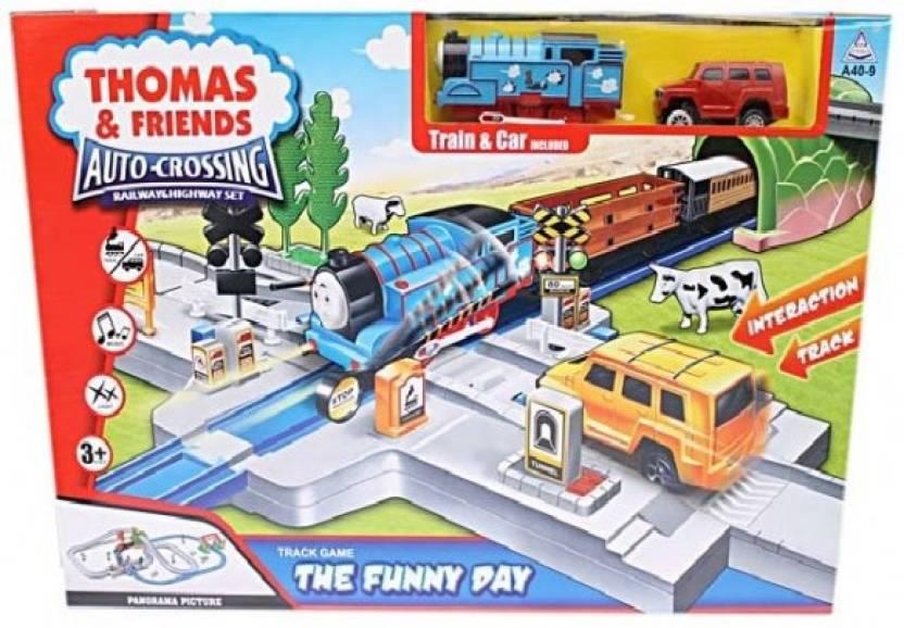 ToysBuggy Thomas & Friends Auto Crossing Railway & Highway