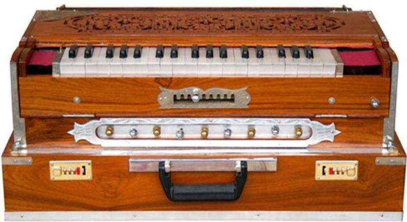 Calcutta Musical Depot Scale Changing Harmonium - Scale Changing