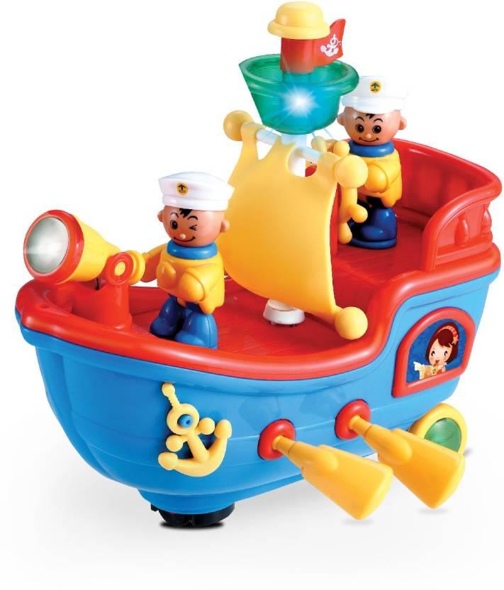 Mitashi Skykidz Pirate Ship Musical Toy - Skykidz Pirate Ship ... 18ed29c00f5f