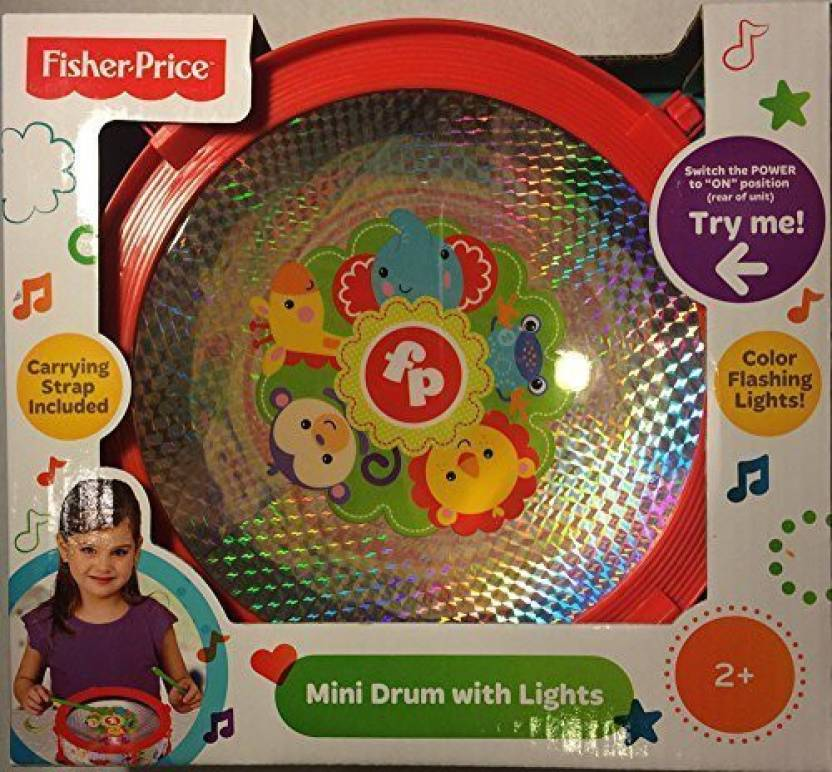 Fisher-Price Mini Drum With Light Effects - Mini Drum With Light ...