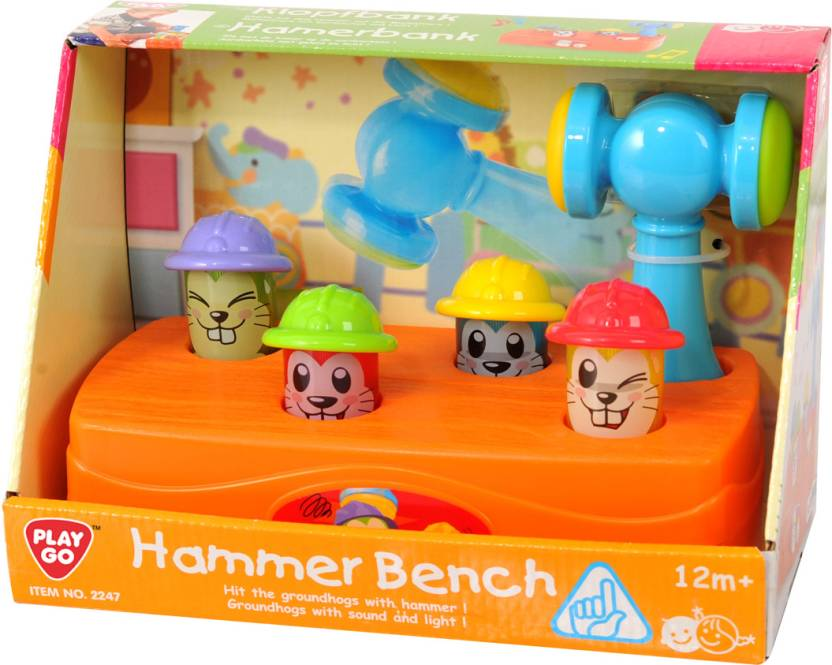 Strange Playgo Hammer Bench Hammer Bench Shop For Playgo Creativecarmelina Interior Chair Design Creativecarmelinacom