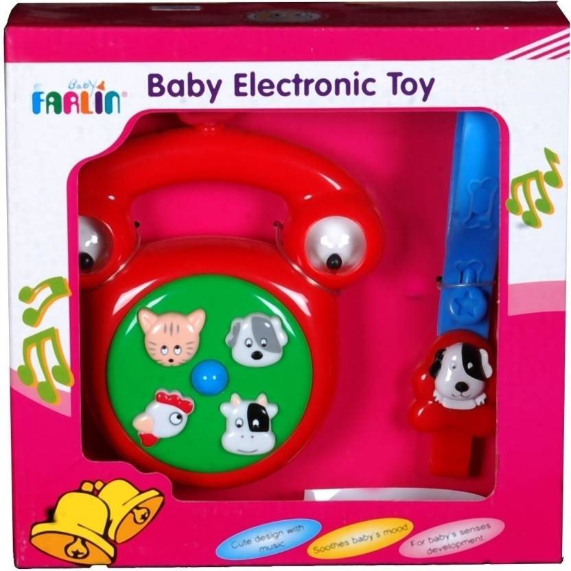 Farlin Baby Electronic Toy Telephone Baby Electronic Toy Telephone