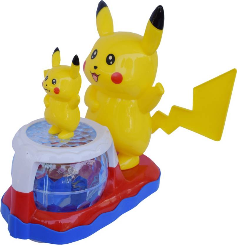 vasa pokemon pikachu musical and lighting toy for kids 6 inches