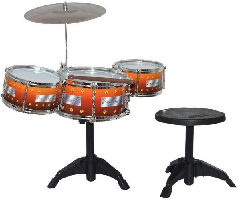 Gme 3 Pic Jazz Drum Multicolor Metal Rock Band Drum Set With A