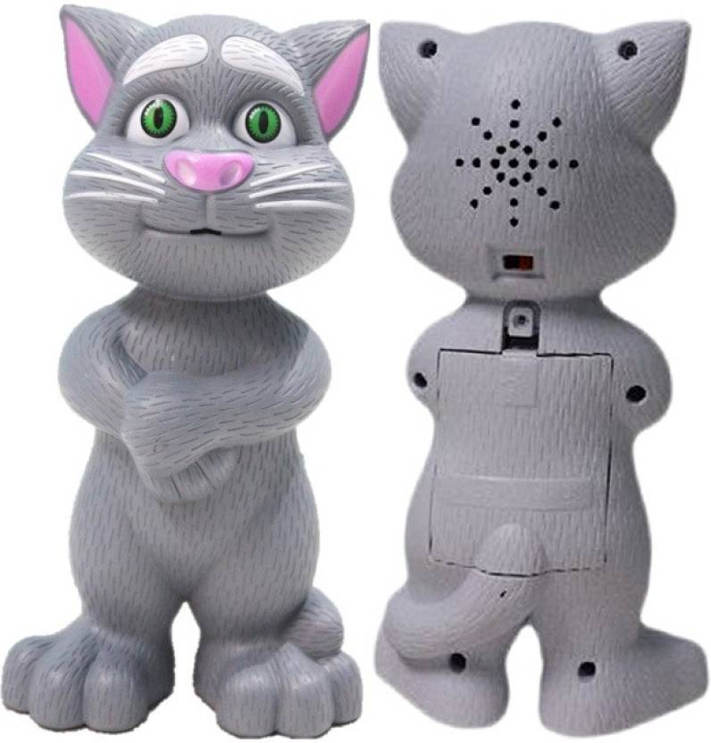 Robot Cat Toy >> Noorstore Intelligent Touch Talking Tom Cat Toy With Recording Grey
