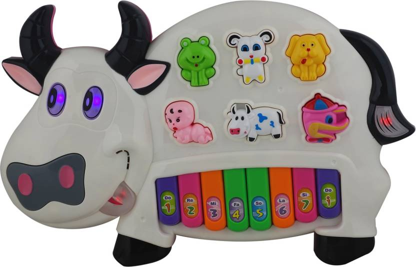 bc6e30db1c Aarushi Musical Cow piano keyboard - Musical Cow piano keyboard ...