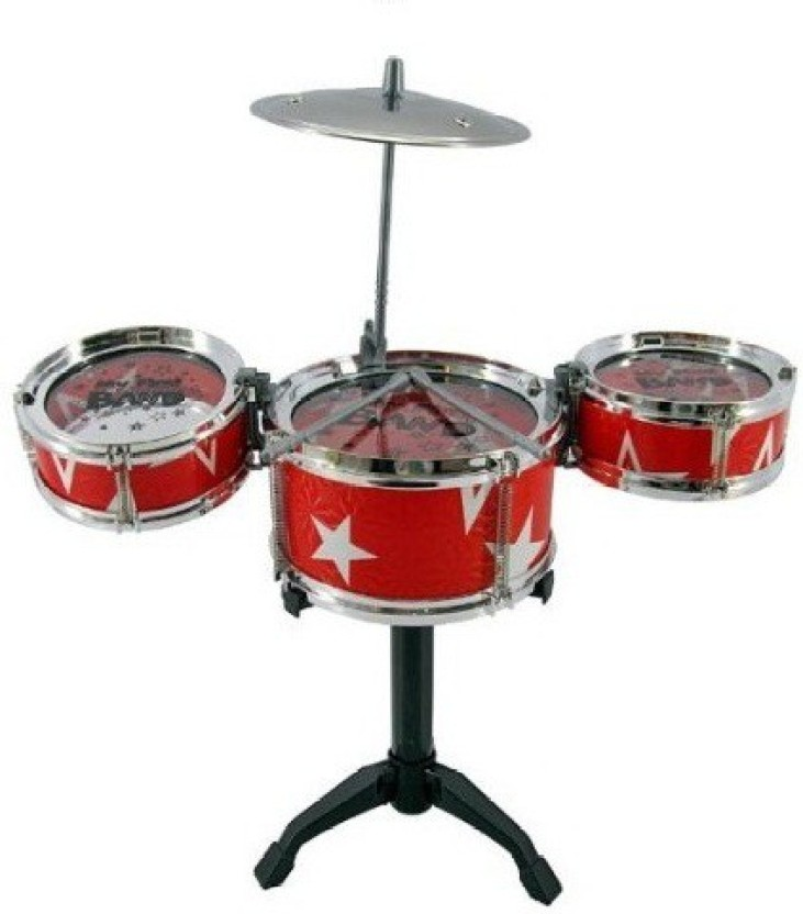 Kids Electric Baby Drum Set With Mic Children Portable Musical Instrument Toy