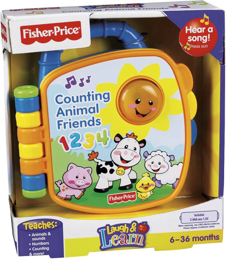 Fisher-Price Learning Book