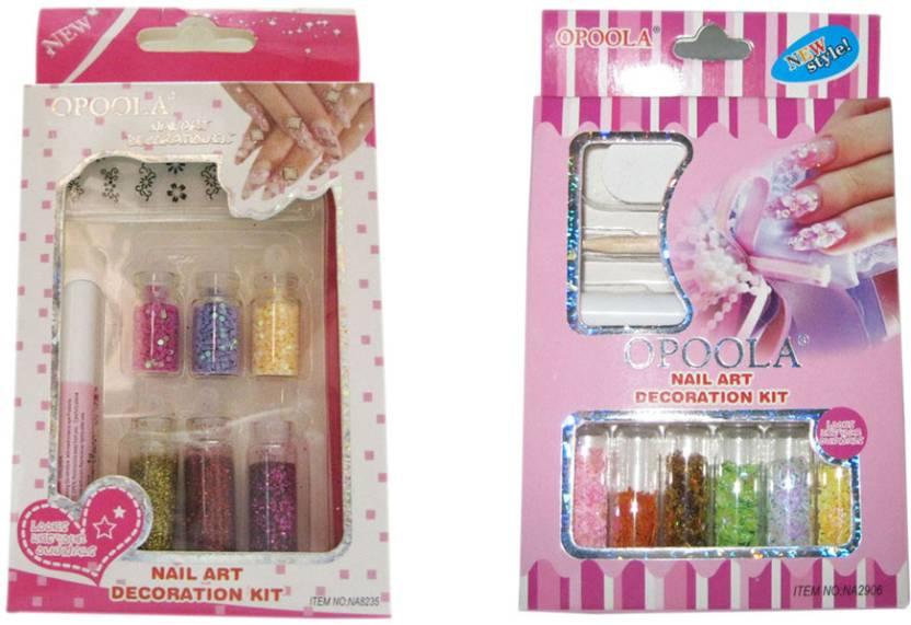 Opoola Nail Art Decoration Kit Price In India Buy Opoola Nail Art