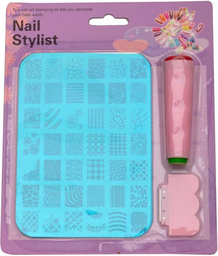 Imported Nail Art Stamping Kit Image Plate Xy14 Price In India