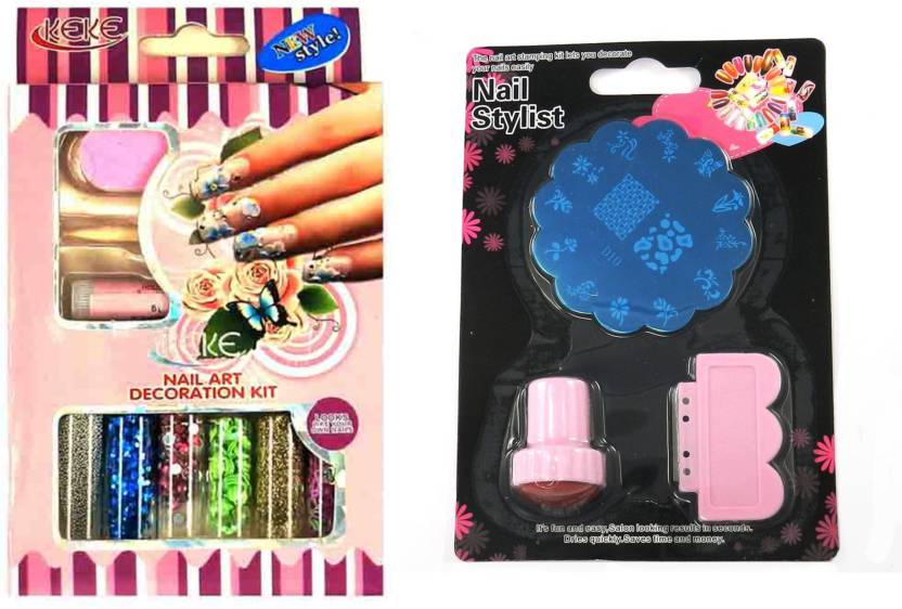 Iris 7 Nail Art Decoration Kit And Stamping Kit Combo Price In