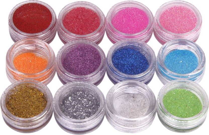 Magideal Sparkly Glitter Dust Powder Nail Art - Price in India, Buy ...