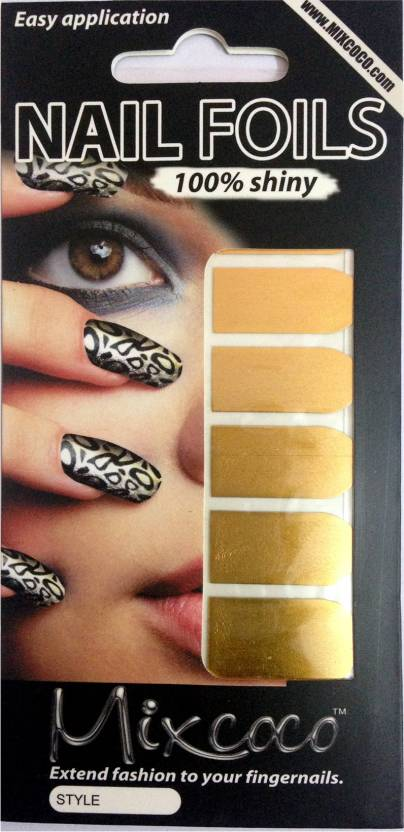 Beautycura Gold Color Nail Foil For Design Work Price In India