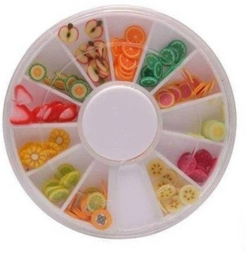 Atanands Fimo Frooties Fruit Polymer Clay Nail Art Canes Price In