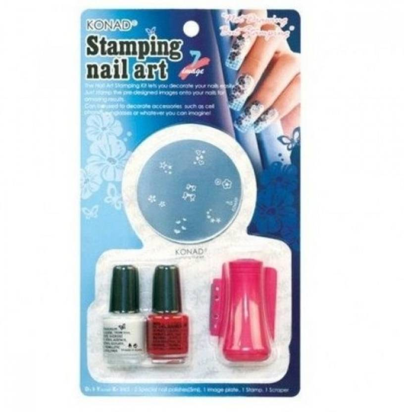 Konad Stamping Nail Art Set D Price In India Buy Konad Stamping