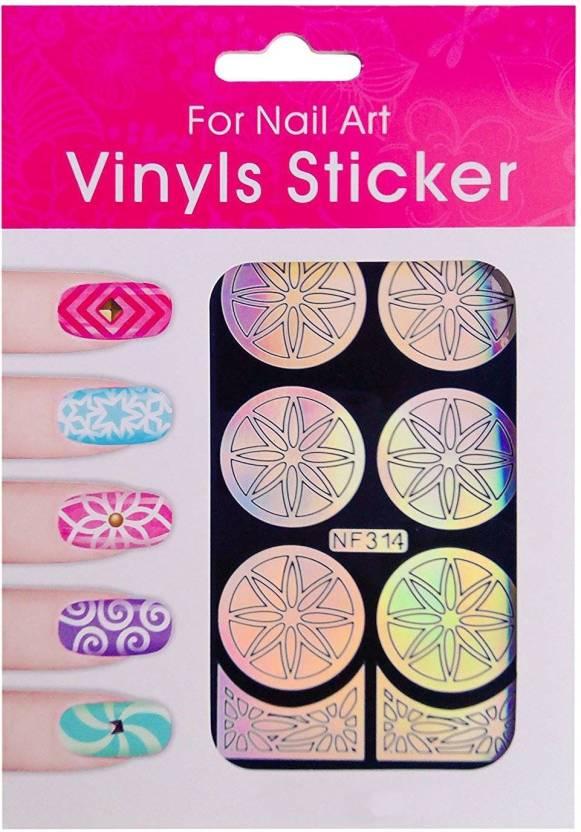 Nimble House Nimble House (TM) 9 Designs 2 Colors Nail Art Vinyls ...