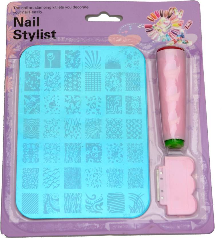 Imported Nail Art Stamping Kit Image Plate Xy13 Price In India