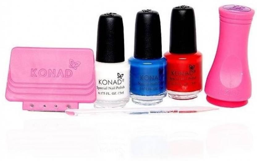 Konad Stamping Nail Art Stone Set Price In India Buy Konad