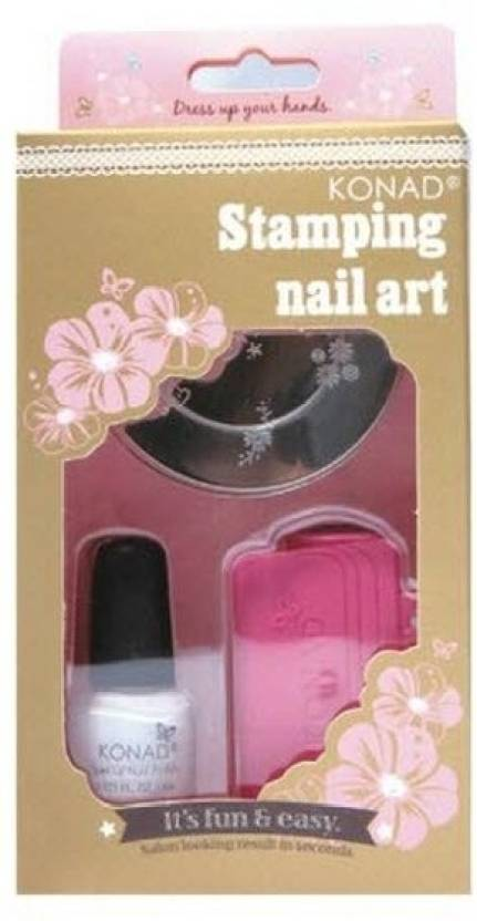 Konad stamping nail art kit stamping set price in india buy konad stamping nail art kit stamping set prinsesfo Choice Image