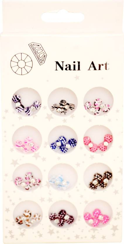 Celebrity Bow Nail Art - Price in India, Buy Celebrity Bow Nail Art ...