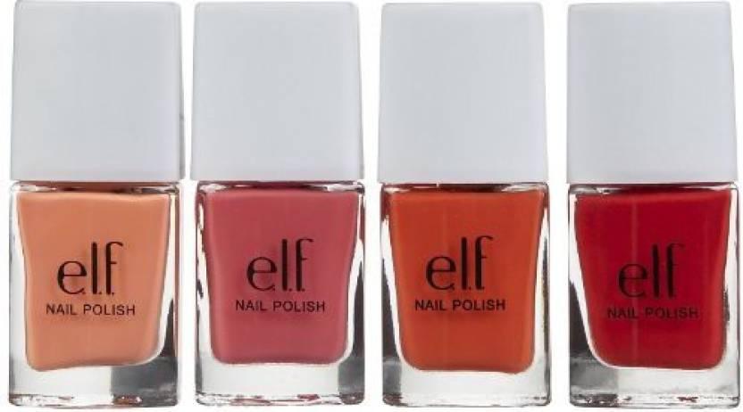 e.l.f Essential Nail Polish Set, 4 pc - Price in India, Buy e.l.f ...