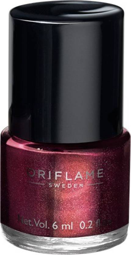 Oriflame Sweden Pure Colour Nail Polish Mini Burgundy Wine