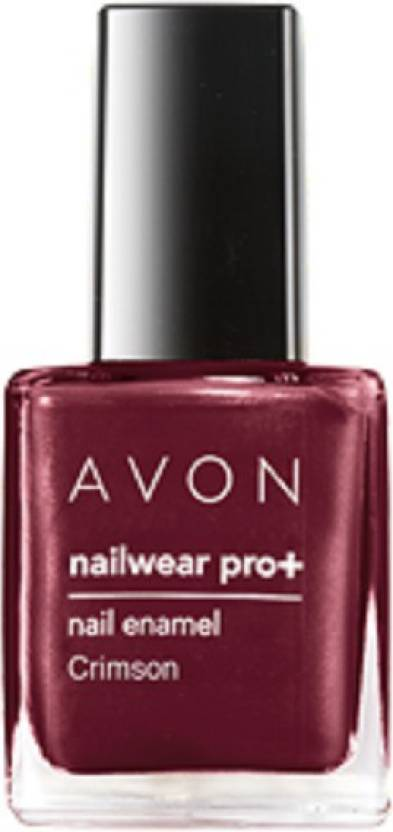 Avon Nailwear Pro+Nail Enamel Crimson - Price in India, Buy Avon ...