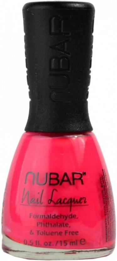 Nubar Nail Polish Hot Pink 117 Price In India Buy Nubar Nail
