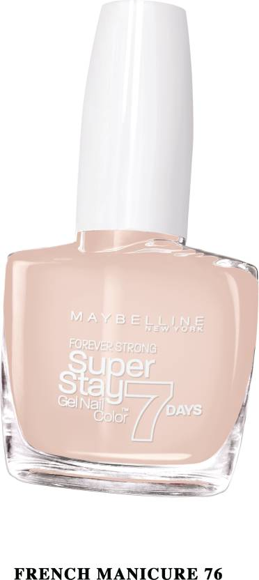 Maybelline super stay gel nail color French manicure, 76 - Price in ...