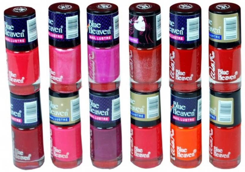 Blue Heaven Walkfree Nailpaint Set 3 Multicolour - Price in India ...