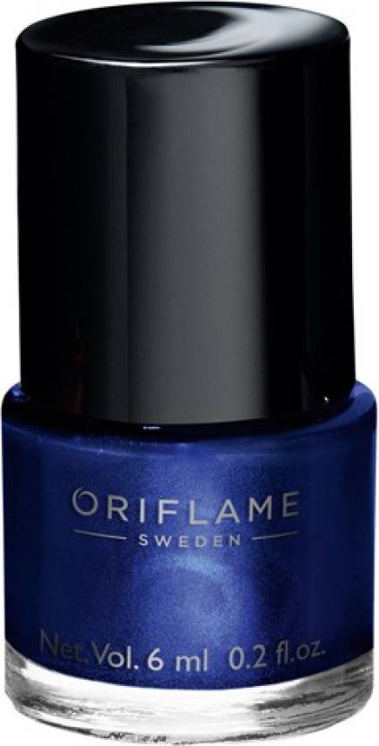 Oriflame Sweden pure colour nail paint midnight blue - Price in ...