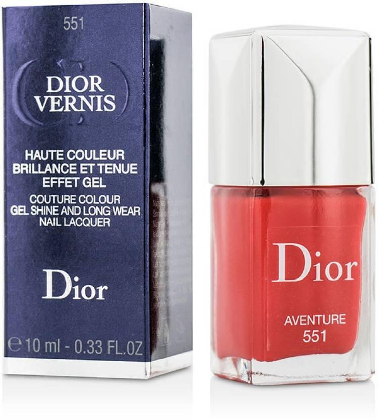 Christian Dior Dior Vernis Couture Colour Gel Shine & Long Wear Nail ...