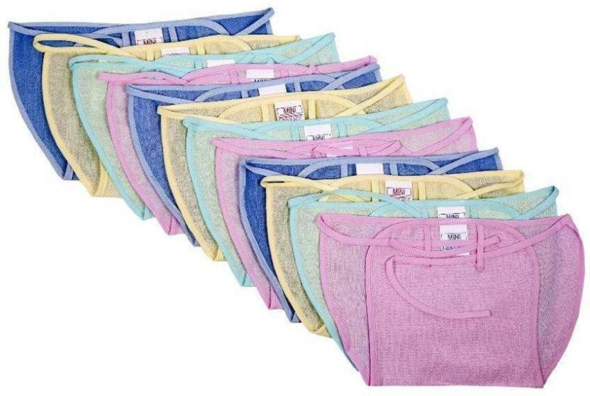 Aayat Kids Sparsh Non-Disposable Multicolor NAPPY (Pack of 12)