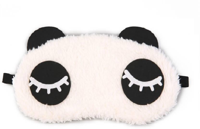 4310cae71ce Jenna Eyelashes Panda Travel Sleep Cover Blindfold - Price in India ...