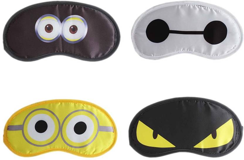 34c0db644 Tootpado Superhero Sleep Eye Mask With Elastic - Pack of 4 (SET68) - Fancy  Sleeping Eye masks for Travel or Daily Use Eye Shade