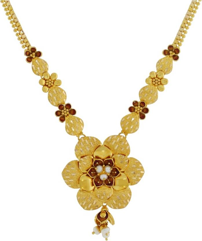 Kalyan Jewellers Gold Necklace Price in India - Buy Kalyan ...