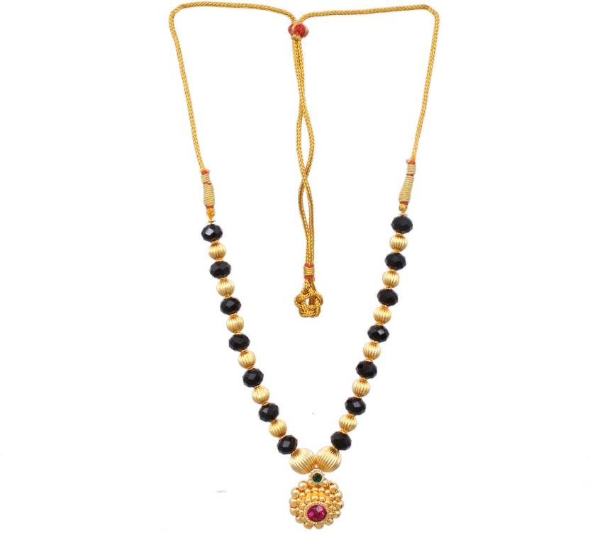 13f9002e893 Sushito Bridal Mani Pandal Unique Haar Gold-plated Plated Alloy Necklace  Price in India - Buy Sushito Bridal Mani Pandal Unique Haar Gold-plated  Plated ...