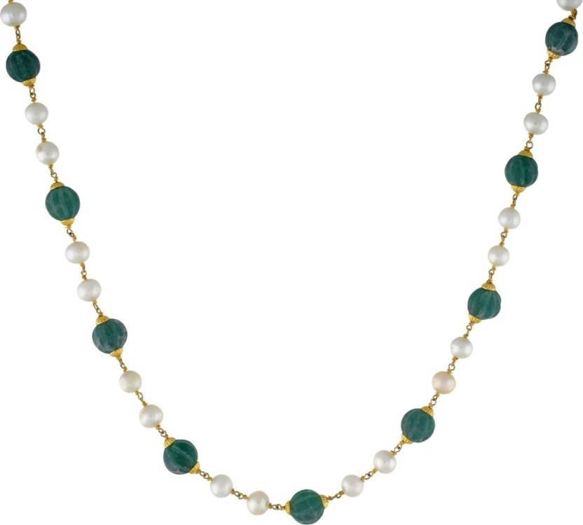 SJ Pearls Swarovski Crystal Crystal Necklace Price in India - Buy SJ Pearls Swarovski  Crystal Crystal Necklace Online at Best Prices in India  58f554f68