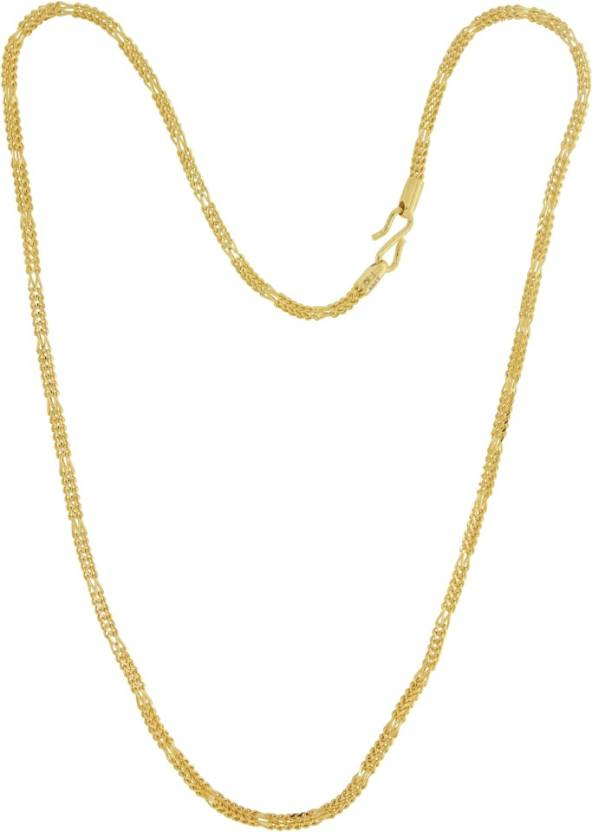 Kalyan Jewellers Gold Chain Price in India - Buy Kalyan Jewellers ...