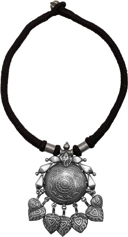 18113e9014676a Sterling Silver Classic Silver Necklace Price in India - Buy Sterling  Silver Classic Silver Necklace Online at Best Prices in India | Flipkart.com