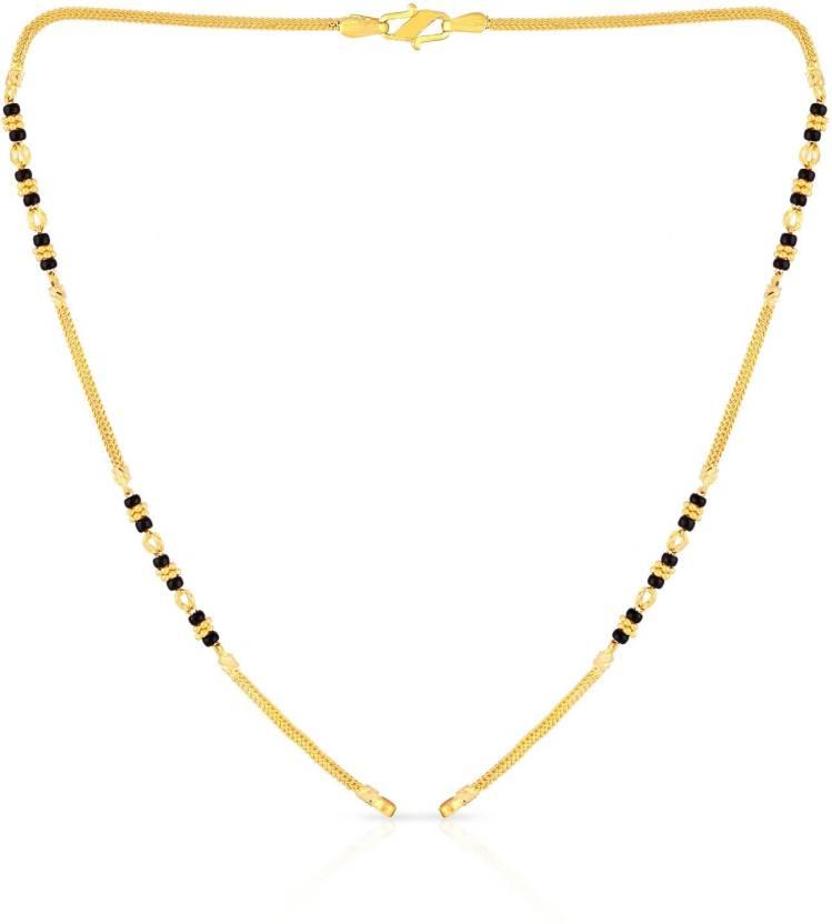 Malabar Gold And Diamonds Yellow Chain