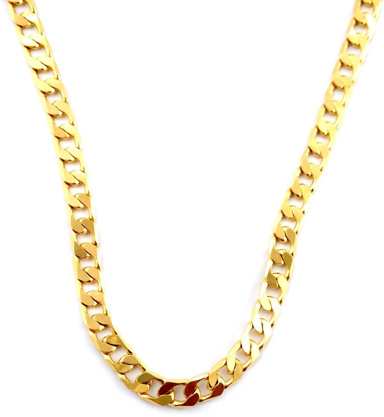 Italian Jewellery Old Is Gold Plated Br Chain