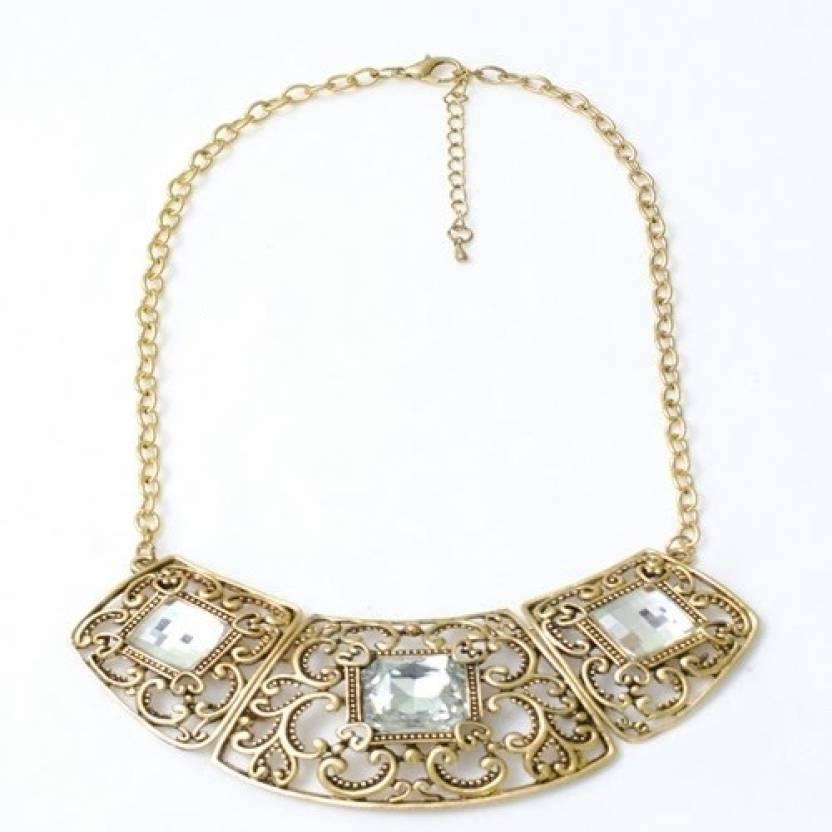Pretty Women Alloy Necklace