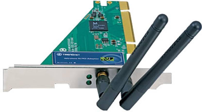 TRENDnet Nspeed Wireless PCI Adapter Network Interface Card