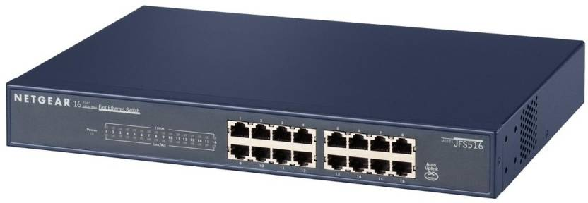 Netgear 16 PT FE Unmanaged Network Switch