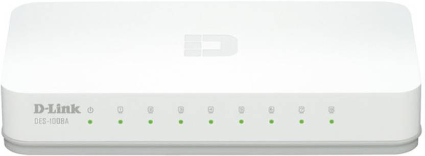 D-Link DES-1008A / DES-1008C Network Switch