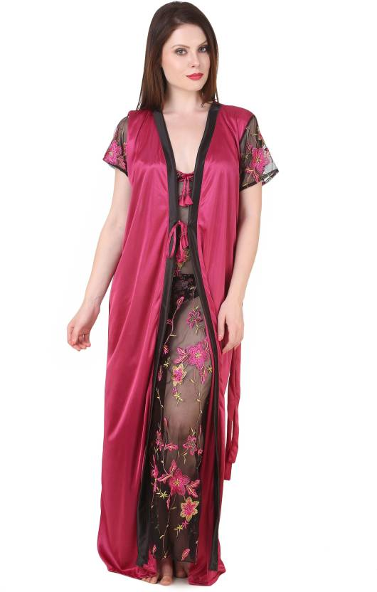 Masha Women Nighty - Buy Multicolor Masha Women Nighty Online at ... ced50718f