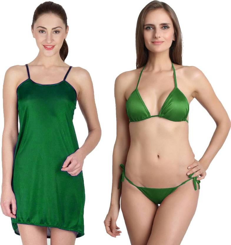 f892f8c8efc You Forever Women s Nighty - Buy Green You Forever Women s Nighty ...