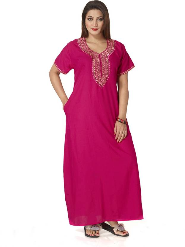 KuuKee Women s Nighty - Buy Rani KuuKee Women s Nighty Online at ... 54f9027d8