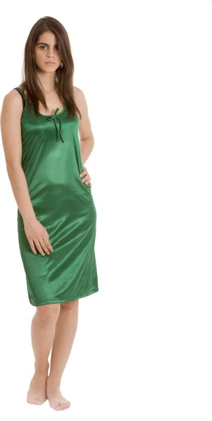 ee457b1040 Being Fab Women's Nighty - Buy Green Being Fab Women's Nighty Online ...